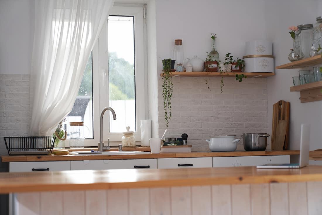 Windows Above Kitchen Sink
