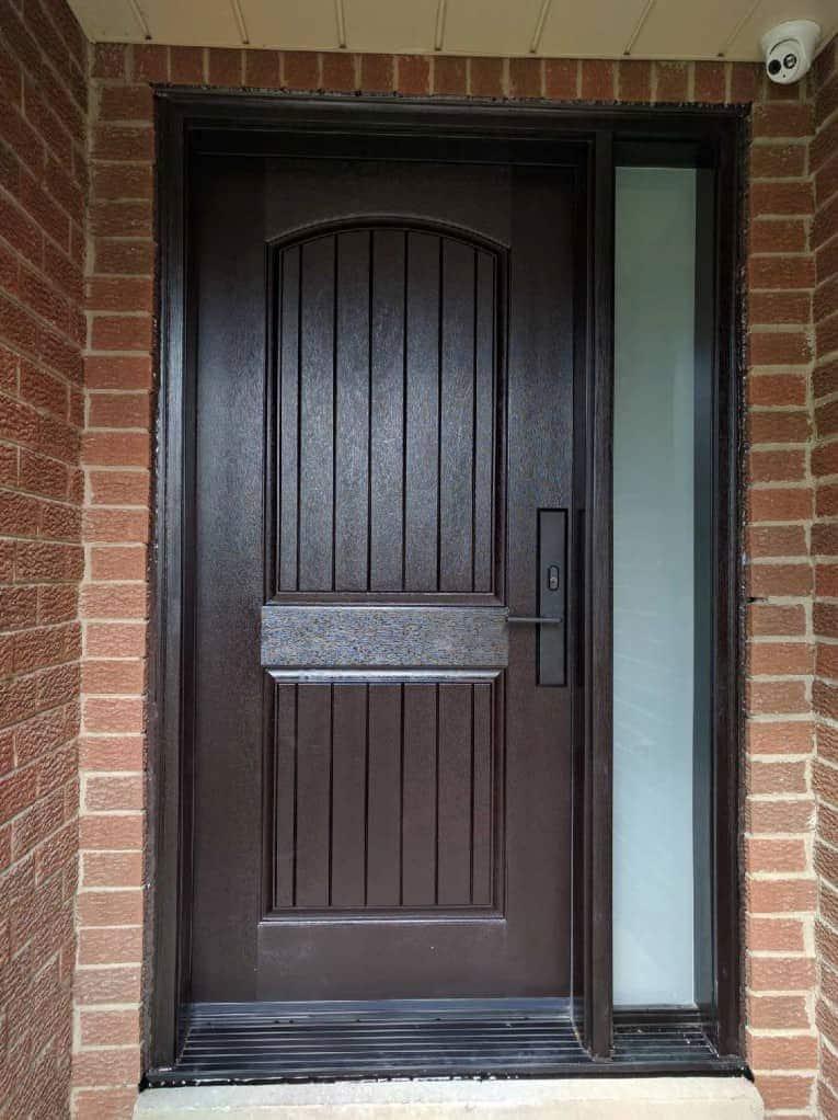Fibreglass Entry Door Installation