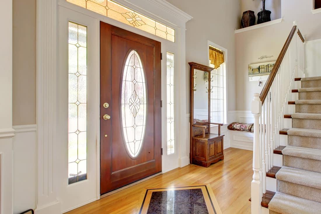 Steel, Fiberglass, or Wood Entry Door